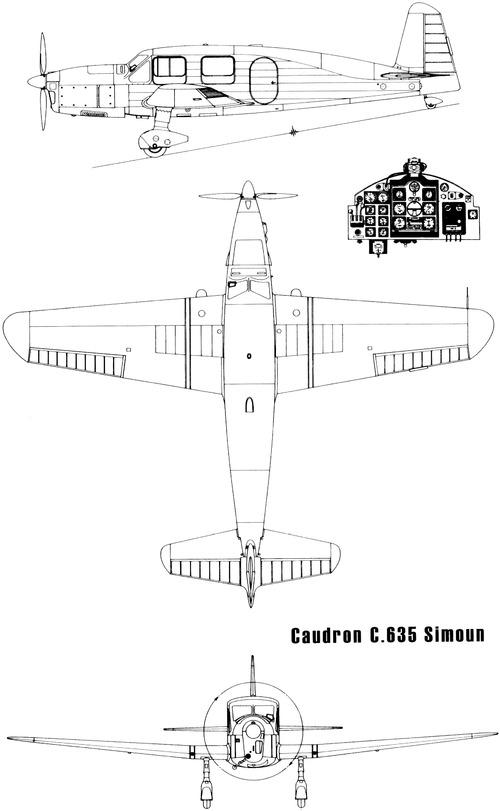 Caudron C.635 Simoun (1936)