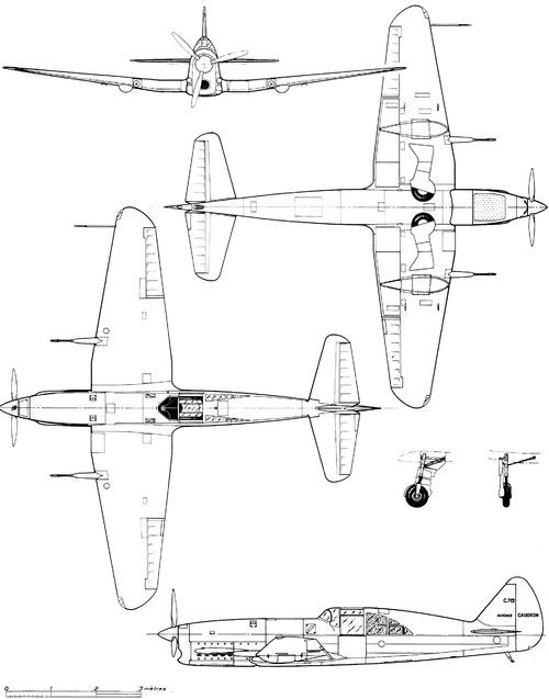 Caudron C.713 Cyclone