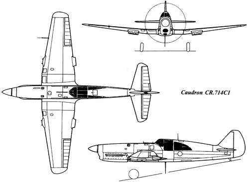 Caudron C.714C1 Cyclone
