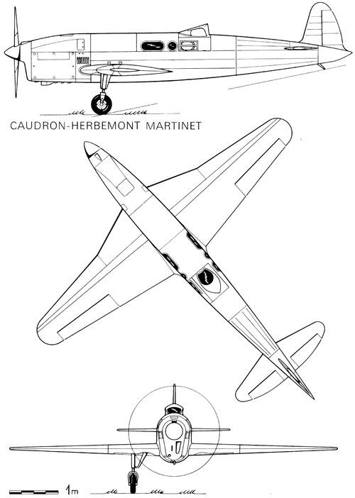 Caudron-Herbemont C.366 Martinet