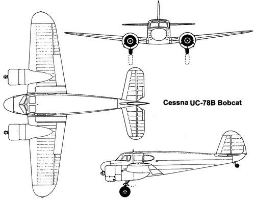 Cessna T-50 UC-78B Bobcat
