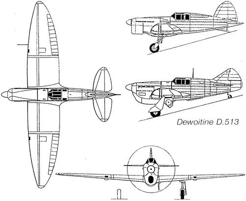 Dewoitine D.513