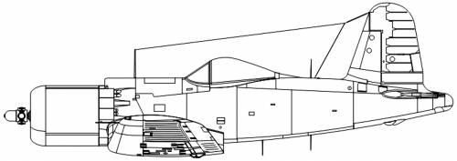 Goodyear [Vought] F2G1 Super Corsair