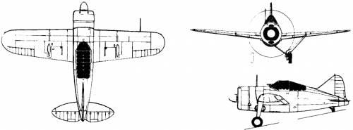 Grewster F2A-3 Buffalo