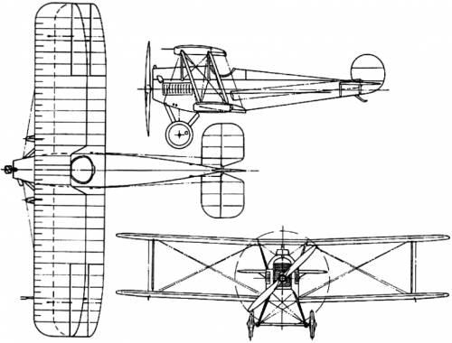 Avro 534 / 543 / 554 Baby (England) (1919)