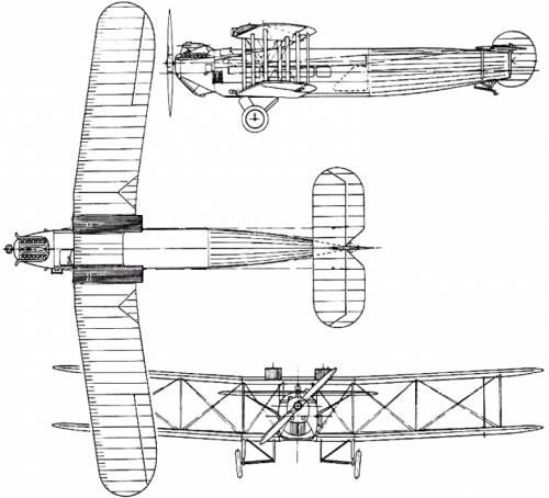 Avro 561 / 563 Andover (England) (1924)