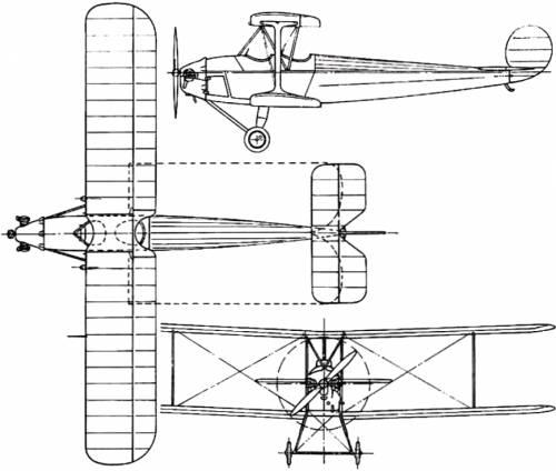 Avro 562 Avis (England) (1925)