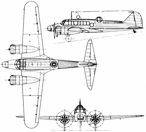 Avro 652 Anson (England) (1935)