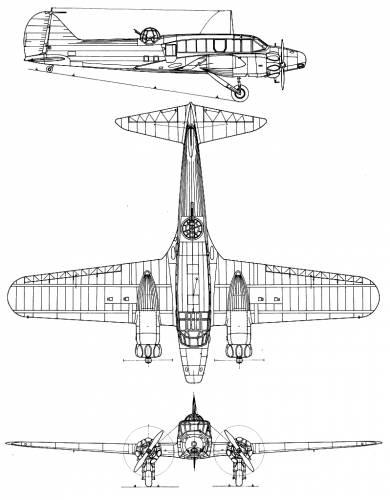 Avro 652 Anson Mk. I