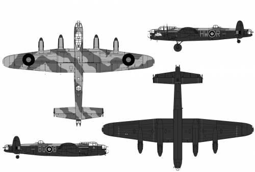 Avro 683 Lancaster B Mk.I
