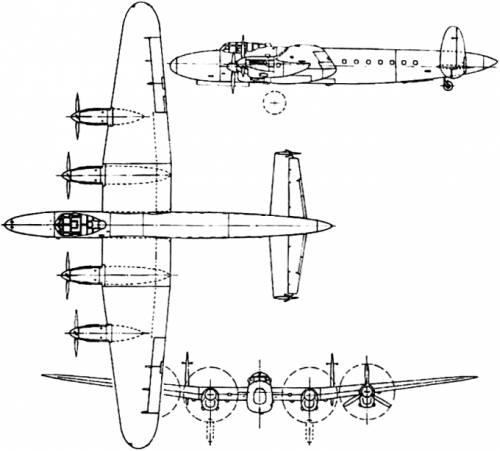 Avro 691 Lancastrian (England) (1943)