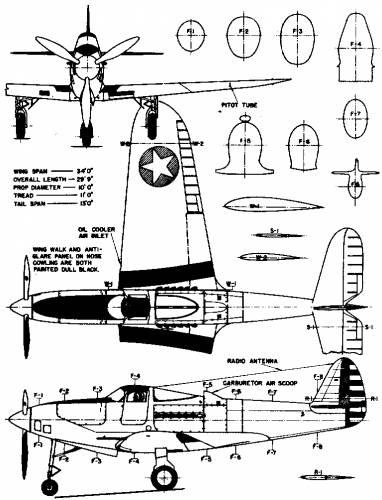Bell P-39C Airacobra