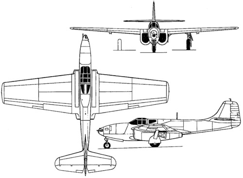 Bell P-59 Airacomet (1942)
