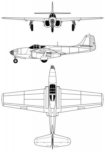 Bell P-59B Airacomet