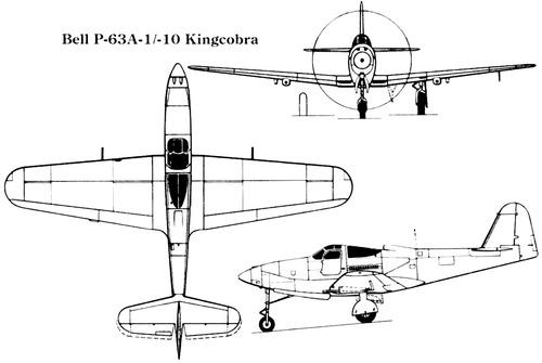 Bell P-63A-1 --10 Kingcobra