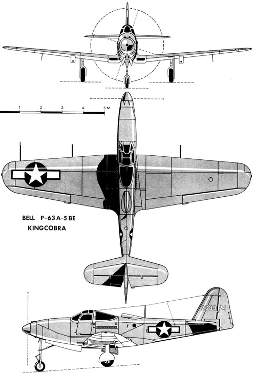 Bell P-63A-5 BE Kingcobra