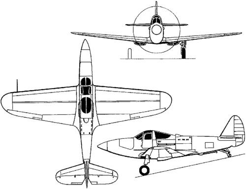 Bell XFL-1 Airabonita (1940)
