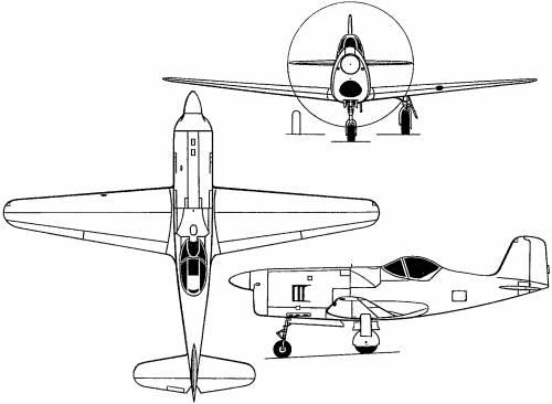 Bell XP-77 (USA) (1944)