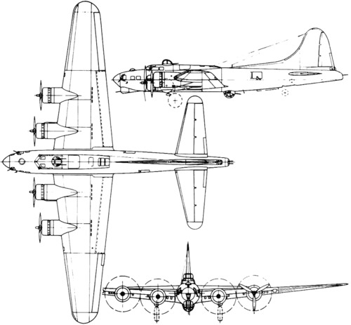 Boeing B-17 Flying Fortress (1939)