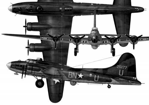 Boeing B-17F Flying Fortress