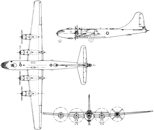Boeing B-29 Superfortress (1942)