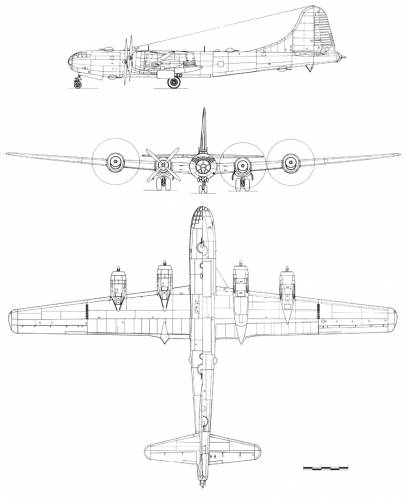 Boeing B-29A Super Fortress
