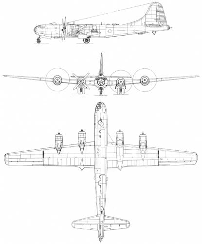 Boeing B-29B Superfortress