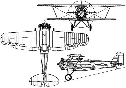 Boeing F2B / Model 69 (1926)