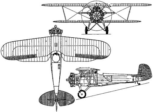 Boeing F3B / Model 77 (1928)