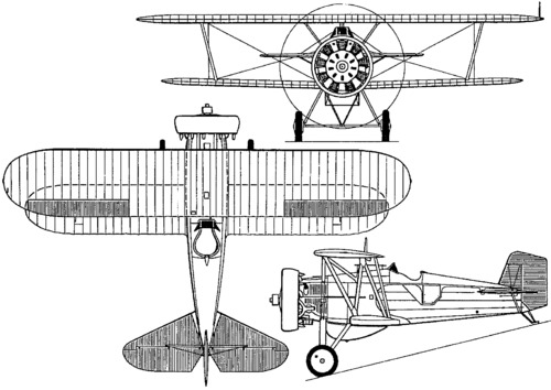 Boeing F4B / P-12 (1929)