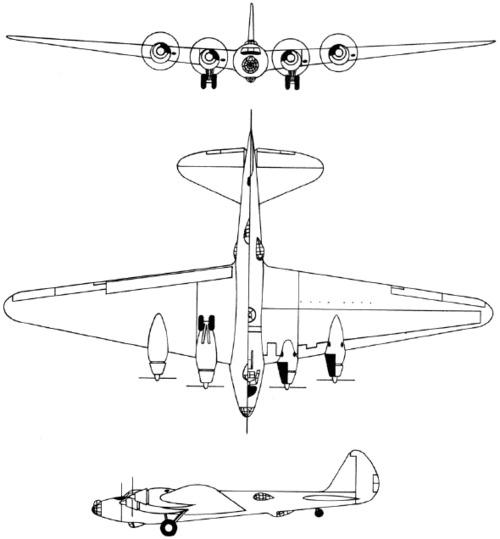 Boeing Model 294 / XB-15 / XC-105 (1937)
