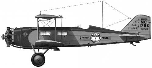 Boeing Model 40B-4