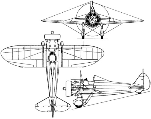 Boeing P-26 Peashooter (1933)