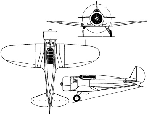 Boeing XF7B-1 / Model 273 (1933)