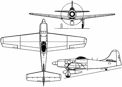 Boeing XF8B (USA) (1944)