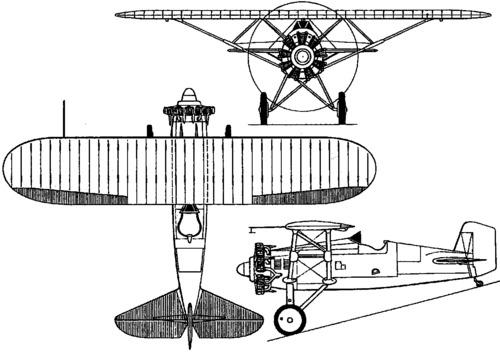 Boeing XP-15 / XF5B-1 (1930)
