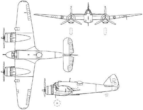 Bristol 156 Beaufighter (1939)