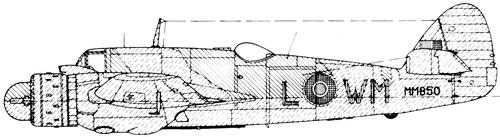 Bristol 156 Beaufighter Mk.VIF