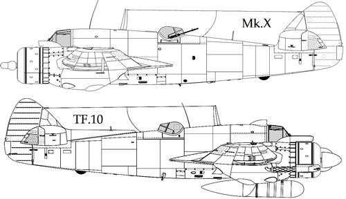 Bristol 156 Beaufighter TF.Mk X