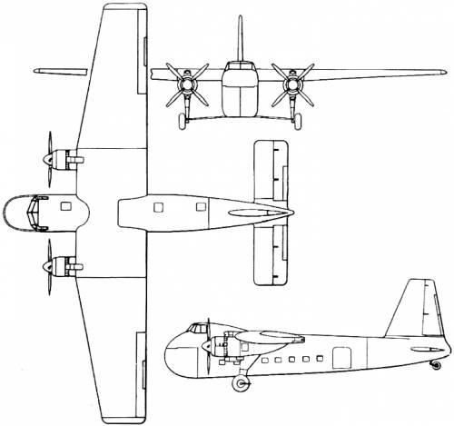 Bristol 170 Freighter / Wayfarer (England) (1945)