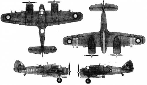 Bristol Beaufighter Mk. 21