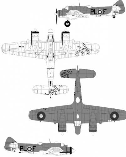 Bristol Beaufighter TF Mk. X