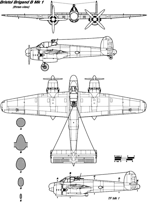 Bristol Brigand B Mk.I
