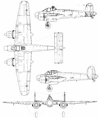 Bristol Brigand F Mk.I