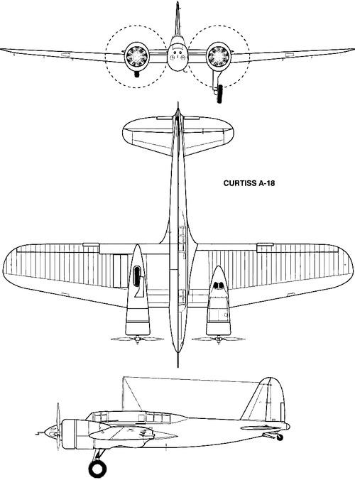 Curtiss A-18 Shrike II