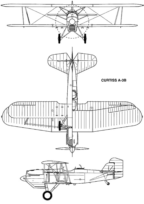 Curtiss A-3B Falcon