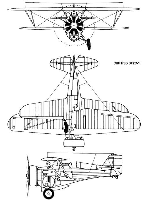 Curtiss BF2C-1 Goshawk