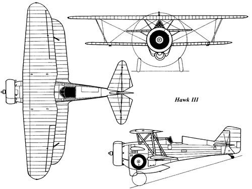 Curtiss BFC-2 Hawk III