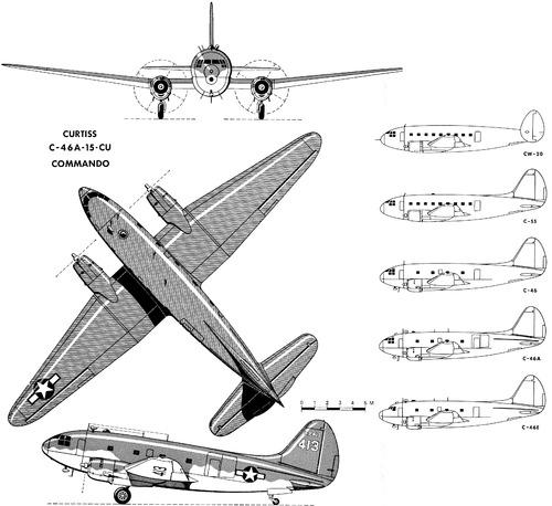 Curtiss C-46A Commando
