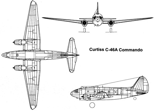 Curtiss C-46A Commando
